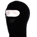 Balaclava 1-hole Mesh black