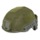 Helmet cover mesh, green