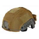 Helmet cover mesh, tan