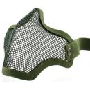 Metāla sieta maska Zaļa